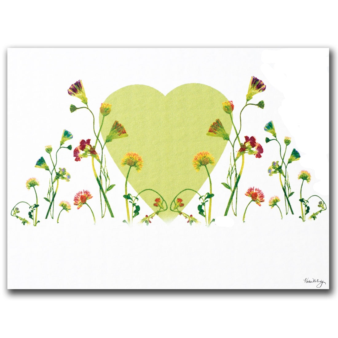 Kathie McCurdy 'The Heart is Glorious Machine' Canvas Art