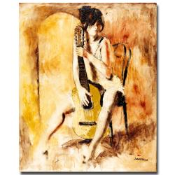 Joarez 'Love Song' Canvas Art