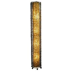 Natural Durian Fruit Fiber Paper Shade Giant Floor Lamp (Philippines)