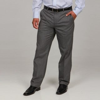 Britches By Samtex Men S Charcoal Dress Pants Overstock