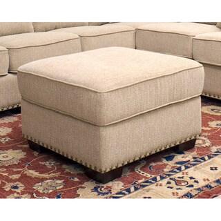 Abbyson Living Santa Barbara Fabric Ottoman