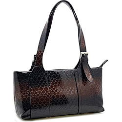 Alligator Embossed Handbag