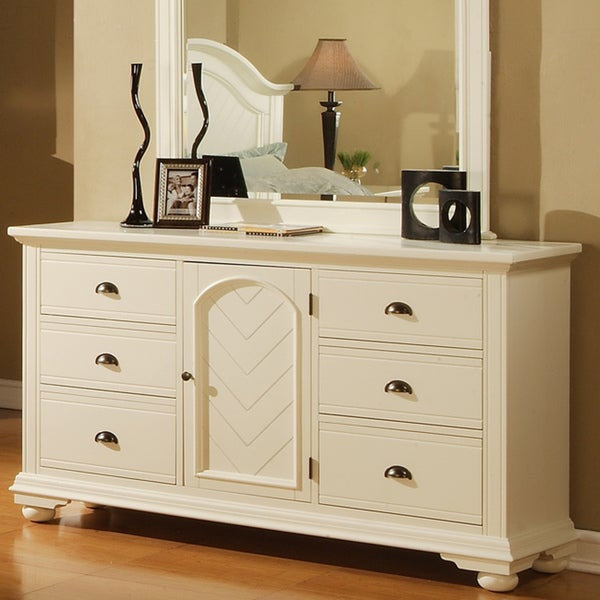 Picket House Napa White Dresser