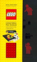 Moleskine Lego Red Brick Plain Large Black (Hardcover)
