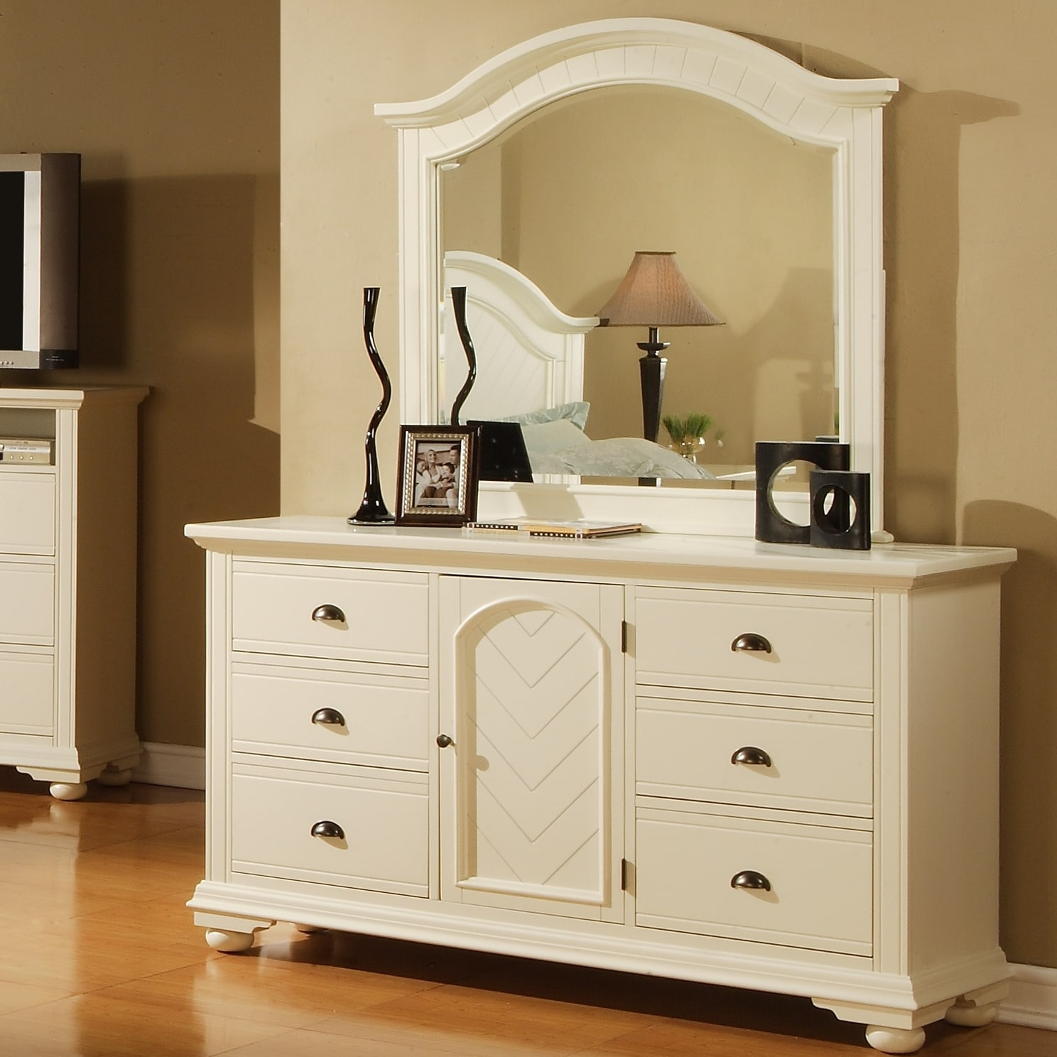 napa white dresser and mirror overstock shopping great deals on