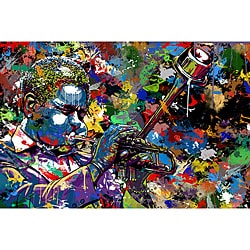 Maxwell Dickson 'Jazz' Limited Edition Canvas Wall Art
