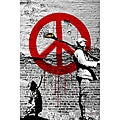 Maxwell Dickson 'Time for Peace' Limited Edition Canvas Art
