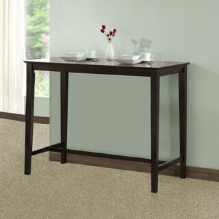 Cappuccino Oak Veneer Counter-height Kitchen Table