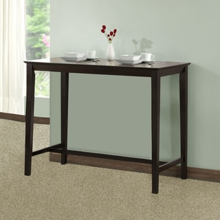 Cappuccino Oak Veneer Counter-height Kitchen Table