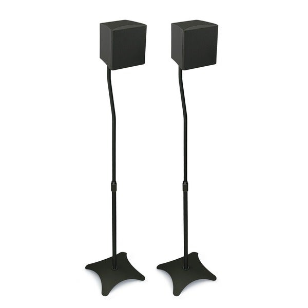 Mount-It! Home Theater Satellite Speaker Stands (Pack of 2)