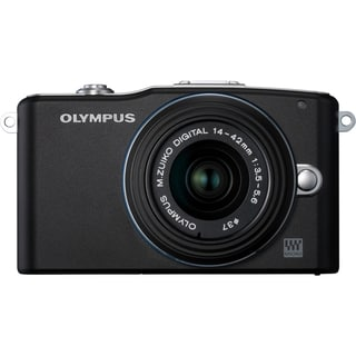 Olympus PEN E-PM1 12.3 Megapixel Mirrorless Camera (Body with Lens Ki
