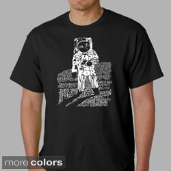 Los Angeles Pop Art Men's Astronaut T-shirt