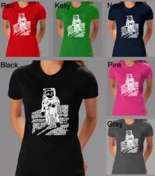Los Angeles Pop Art Women's Astronaut T-shirt