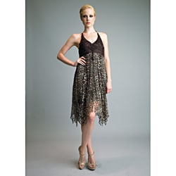 Issue New York Women's Animal Print Silk Cocktail Dress