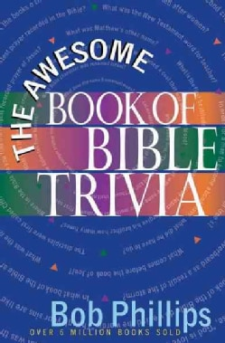 The Awesome Book of Bible Trivia (Paperback)