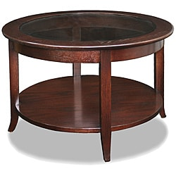 Chocolate Bronze Round Coffee Table