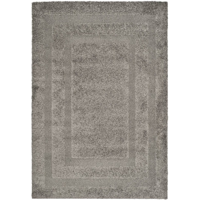 "Safavieh Ultimate Dark Gray Shag Area Rug (8'6"" x 12')"