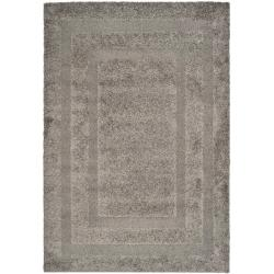 "Ultimate Dark Gray Shag Area Rug (8'6"" x 12')"