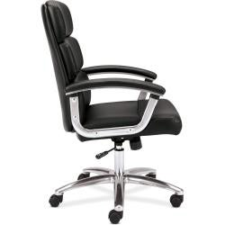 basyx by HON VL103 Mid-back Leather Executive Task Chair