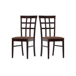 Warehouse of Tiffany Justin Dining Chairs (Set of 2)