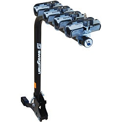 Swagman XP Fold Down 4-bike Hitch Mount Bike Carrier 1-1/4-inch and 2-inch Hitch
