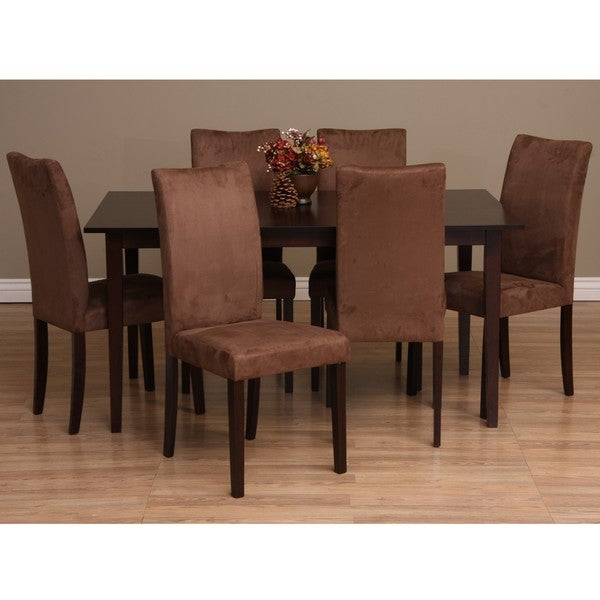 With This 7 Piece Dining Room Set From Warehouse Of Tiffany This Set
