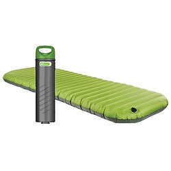 Aerobed Pakmat Green Phthalate-free Outdoor Air Mattress with Pump
