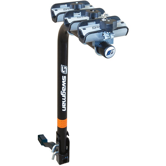 Swagman XP Fold Down 3-bike Hitch Mounted 1-1/4-inch and 2-inch Receiver