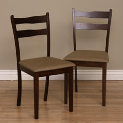 Warehouse of Tiffany Callan Latte Dining Chairs (Set of 2)