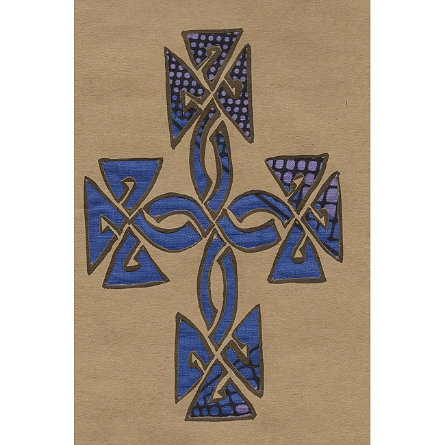 Set of 4 African Proverb Cross Greeting Cards (Kenya)