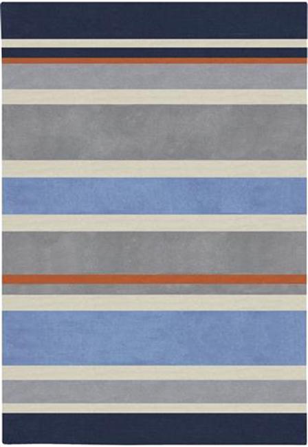 Hand Tufted Grasse Stripe Rug (8' x 10')