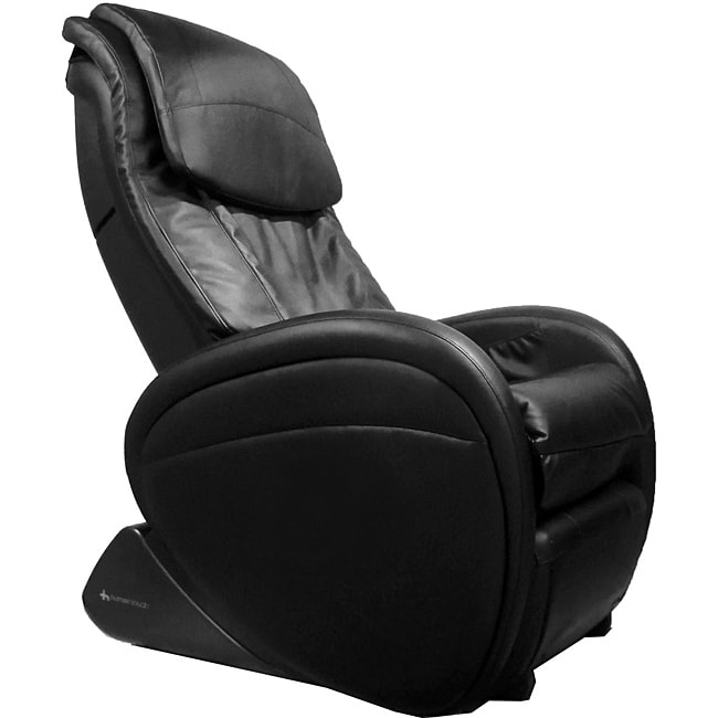 Black Human Touch Massage Chair with Acupoint Detection (Refurbished)