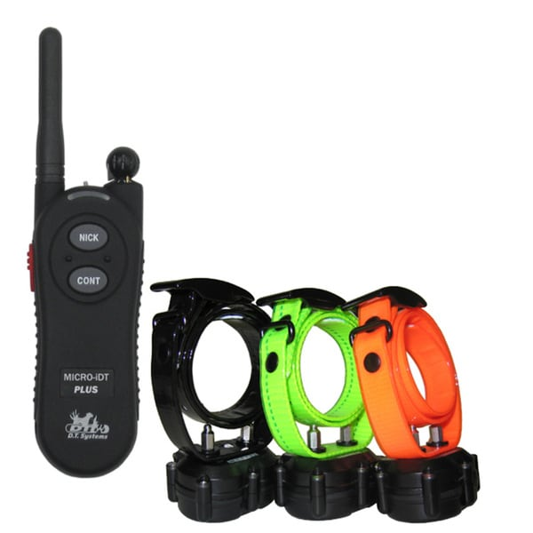 DT Systems Plus Dog Training Collar (3 Dog System)
