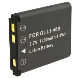 INSTEN Li-ion Battery for Olympus LI-40B/ STYLUS 7030 Tough/ 3000