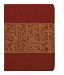 Names of Jesus Lux-leather Journal Tan (Notebook / blank book)