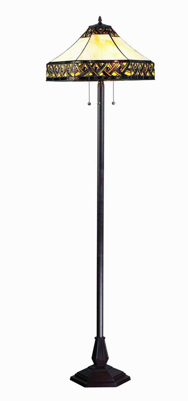 amora lighting tiffany style jeweled design 61 inch floor lamp. Black Bedroom Furniture Sets. Home Design Ideas