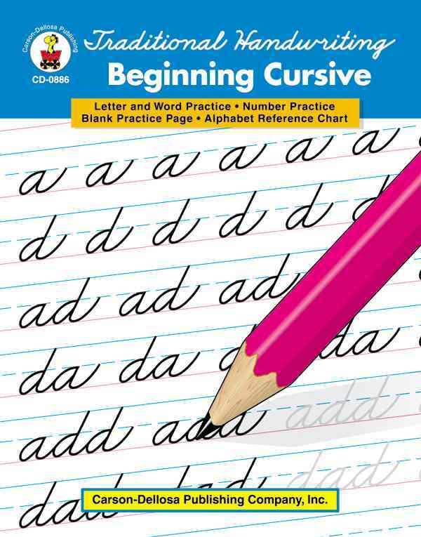 Traditional Handwriting Beginning Cursive (Paperback)