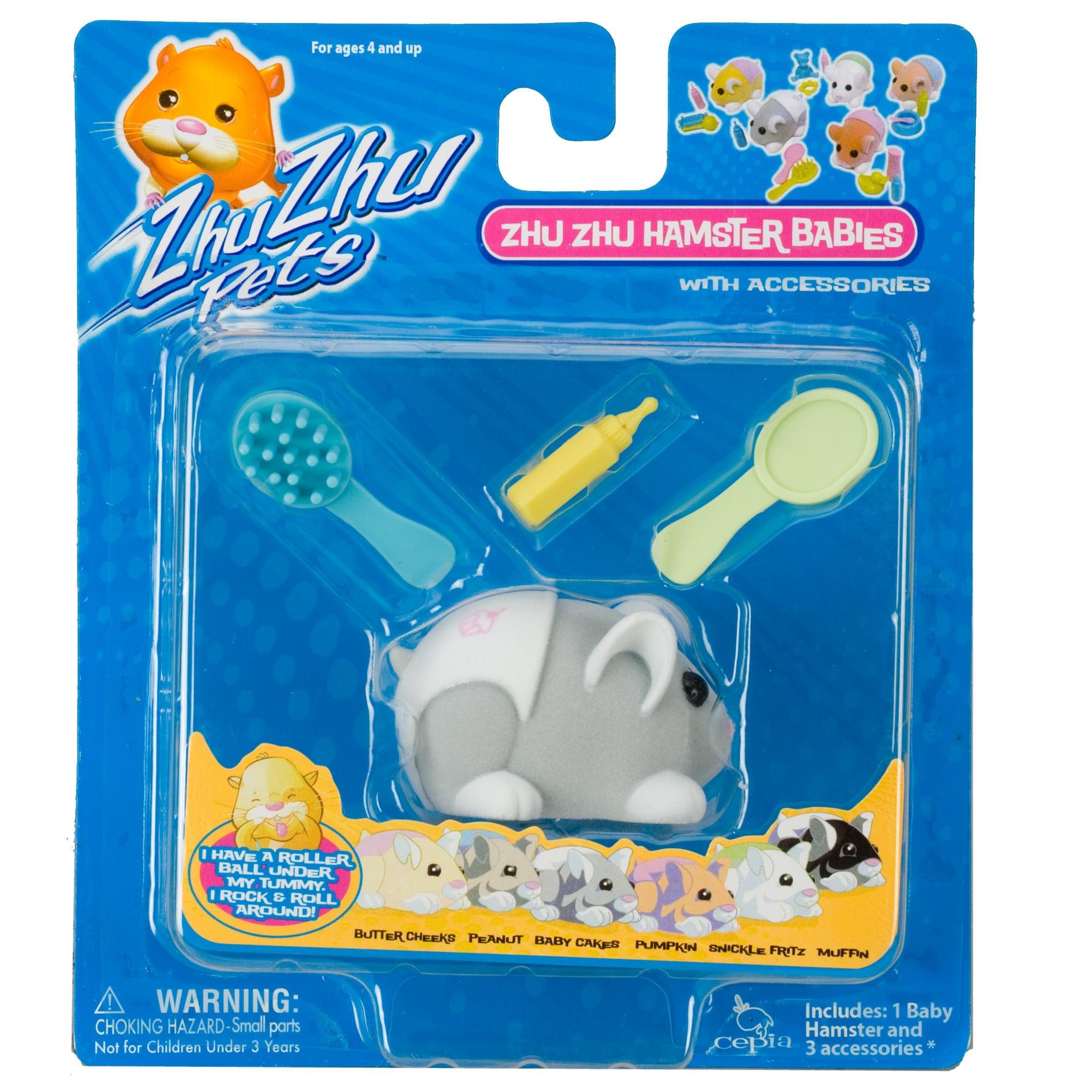 Zhu Zhu Babies Baby Cakes Toy Hamster