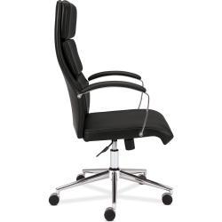 Basyx by HON VL105 Black High-back Executive Task Chair