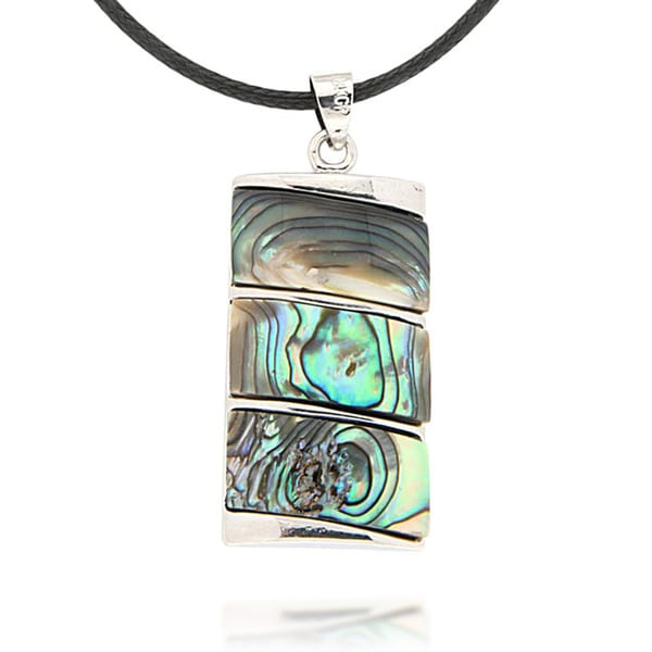 Pearlz Ocean Abalone Shell Pendant Necklace