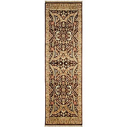 Hand-knotted Taj Mahal Semi-worsted New Zealand Wool Rug (2'6 x 8')