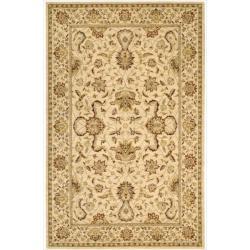 Nourison Parthia Sand Wool Rug (5'3 x 8'3)