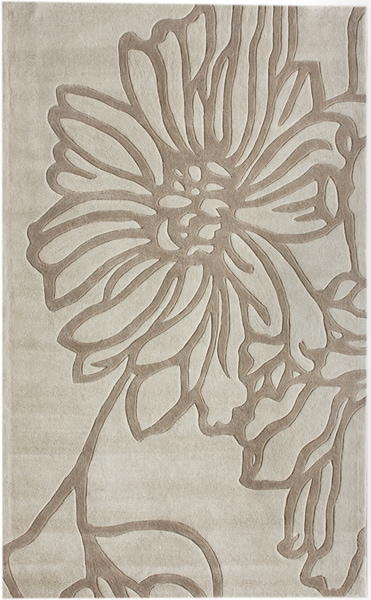 nuLOOM Handmade Pino Flower Rug (5' x 8')