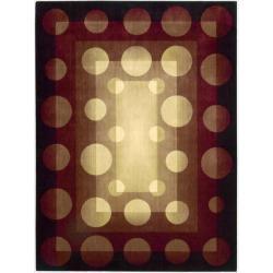 Nourison Parallels Multicolor Geometric Rug (7'9 x 10'10)