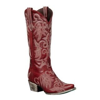 Lane Boots Women's 'Wild Ginger' Red Cowboy Boots