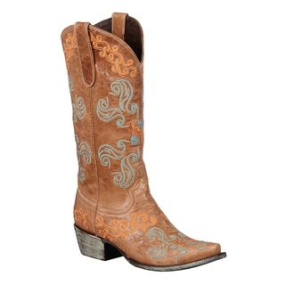 Lane Boots Brown 'Old Mexico' Cowboy Boots