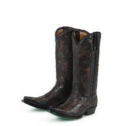 Lane Boots Women's Black/ Brown 'Poison' Cowboy Boots