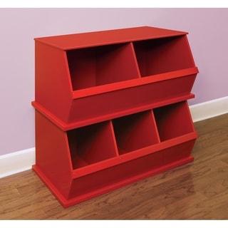 Taylor & Olive Malva Three Bin Stackable Storage Cubby