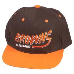 Cleveland Browns Retro NFL Snapback Hat