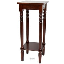 28-inch Classic Shaker-style Square Wood Plant Stand (China)